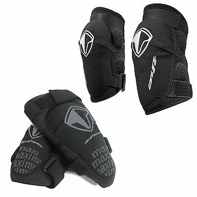 T.H.E Industries Maxi MTB Elbow and Knee pads. THE Armour Black
