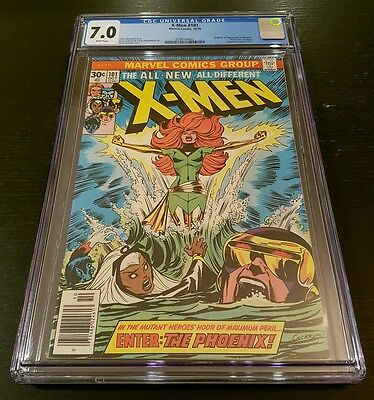 X-MEN #101 (1976 MARVEL) CGC 7.0 W.P. *ORIGIN & 1st APP. OF PHOENIX*