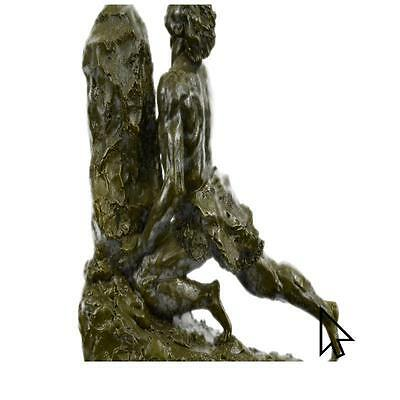 Handmade Brute And Boulder Museum Quality Bronze Masterpiece Sculpture CB