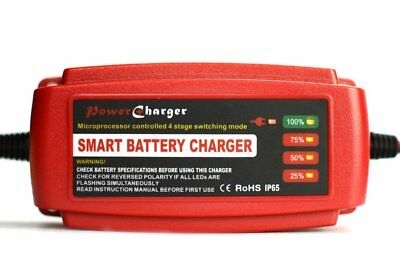 12V 5A Smart Car Battery Charger Maintainer & Desulfator for Lead Acid Batteries