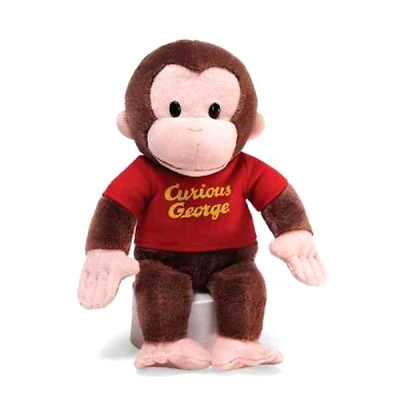 Stuffed Animal Gund Curious George Monkey 12 Inches Tall Plush Soft and Huggable