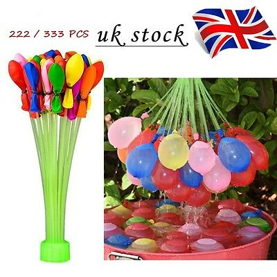 222/333 X Water Balloons Bombs Self Tying Garden Outdoor Party Summer Fun AU