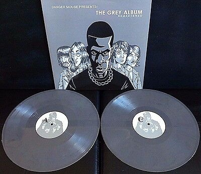 Danger Mouse ‎- The Grey Album - 2 x Grey Vinyl LP - New - Jay-Z Beatles Mash-Up