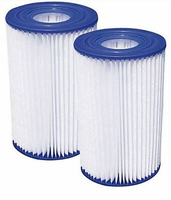 Pool Filter Cartridge Replacement Universal Summer Escapes 2 PK B New M P52 0003