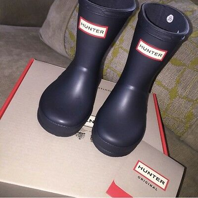 Infant Size 5 Hunter Wellies