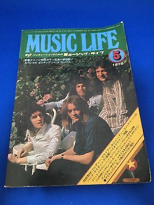 MUSIC LIFE japan   1975   japanese music book  Queen  Bad company in japan