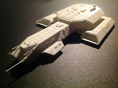 Stargate SG-1 Atlantis Daedalus spaceship Kit Unpainted Assembled