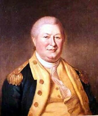 William Smallwood Governor of Maryland Portrait Hand Painted Oil Painting Canvas