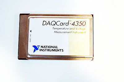 *USA SELLER* National Instruments NI DAQCARD-4350 182750C-01