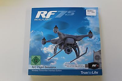 RealFlight GPMZ4534 RF 7.5 Transmitter Interface Edition !NEU & OVP!