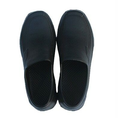 Nonslip Safety Shoes Men Chef Shoes In Kitchen Oil & Water Proof For Cook Newest