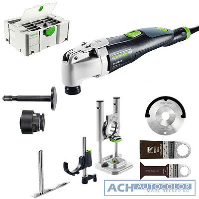 FESTOOL VECTURO Oszillierer OS 400 EQ-SET Nr.563001 + FEIN Multimaster Adapter