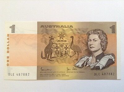 Australia banknote. One dollar. Uncirculated