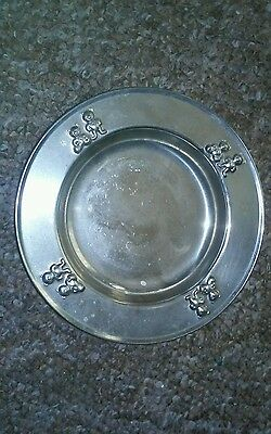 Vtg Selandia-Japan Stainless 18/8-Hollowware Baby-Child's Bowl With Teddy Bears