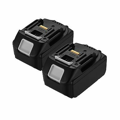 Powerextra 2 Pack 18V 4.0Ah LXT Lithium-Ion Replacement Battery for Makita BL...