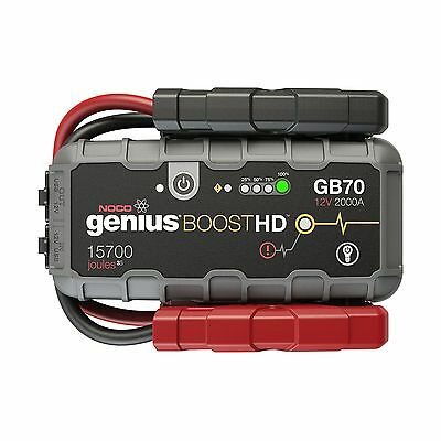 NOCO Genius Boost HD GB70 2000 Amp 12V UltraSafe Lithium Jump Starter 2000 Amps
