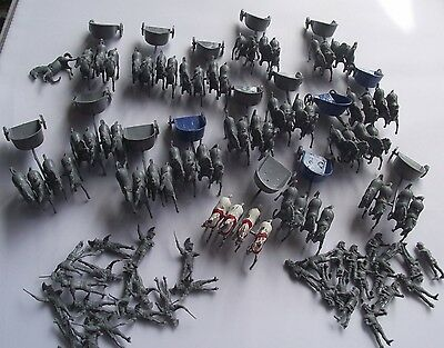 Airfix 1.72 Figures Ancient Romans 16 Chariots With Horses Collection