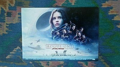 Rogue One A Star Wars Story Postcard
