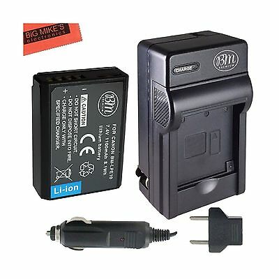 BM Premium LP-E10 Battery and Charger Kit for Canon EOS Rebel T3 T5 T6 Kiss X...
