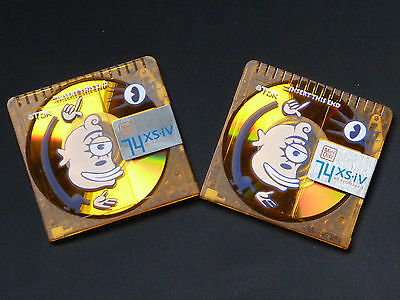 "2x TDK XS-IV - Limited Series  - MD-XS74 AAEA  - ( eksesiv)  ""Happy Cyclop"""