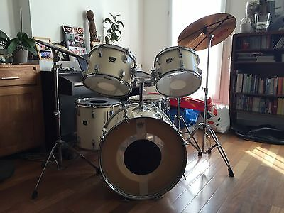 Batterie Tama 5 Futs Cymbales Charleston Complete Vintage 80' 90'