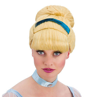 Sweet Cinders Wig Fancy Dress Accessory for Cinderella Fairytale Princess Cospla