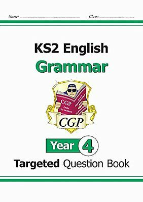 KS2 English Targeted Question Book: Grammar - Year 4 New Paperback Book CGP Book