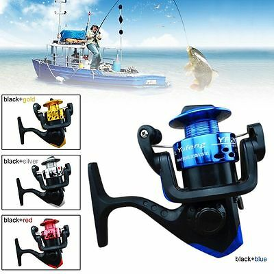 5.2:1 Left/Right Aluminum Spinning Reel High Speed Salwater Fishing Spool Reels