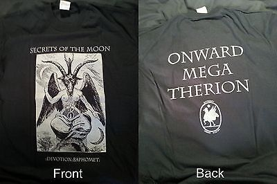 "SECRETS OF THE MOON "":Devotion:Baphomet:"" XL T-shirt Watain Mayhem"