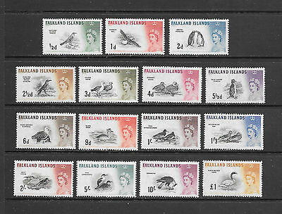 FALKLAND ISLANDS - Scott #128/42 Set OG/MH