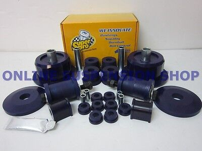 Commodore VX2 VY VZ Sedan & Wagon SUPER PRO Rear Suspension Bush Kit SUPERPRO