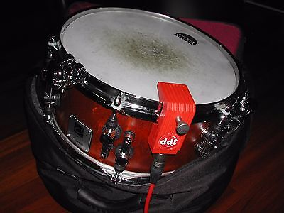Sonor Designer SQ2 Side Snare in Bubinga 12x5,75 inkl. Clap & Trigger ddt