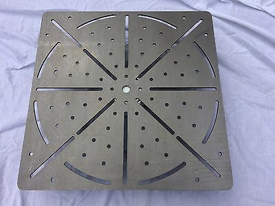 Welding Table Top 60cm x 60cm x 6mm thick steel jig fixture mig tig arc weld