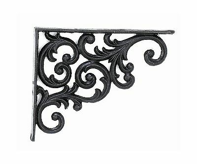 Upper Deck 1 Brackets Shelf 9.375-Inch Deep Rustic Antique Finish