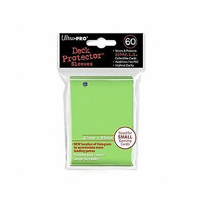 Ultra Pro Small Deck Protectors - Lime Green (60ct)