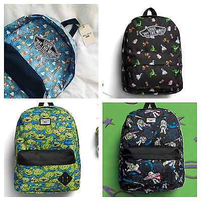 067de68ec3 NWT VANS X Disney Toy Story Backpack  Aliens
