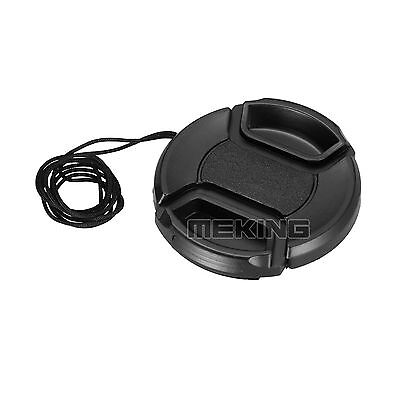 58mm 58 mm Center Front Snap on Lens Cap Cover for Canon EOS EF 18-55-250 75/300