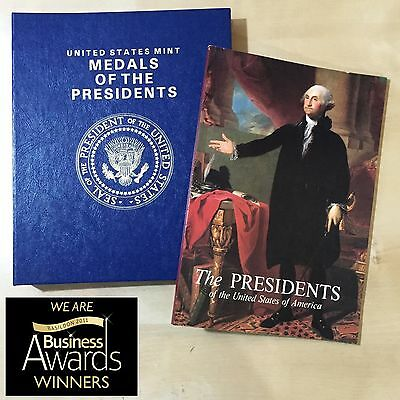 Medals Of The Presidents (United States Mint) • 40 Bronze Medals  • Mint!!