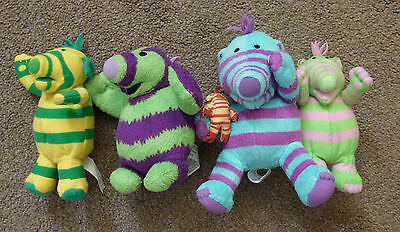 "A Set Of Fimbles Made By Fisher-Price Size Approx;7"" Tall"