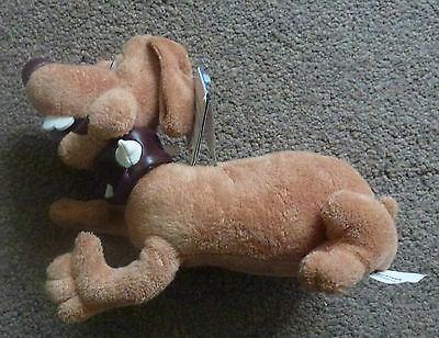 """Soft Toy Dog From Creature Comforts B N W T Size 8"""" Long"""