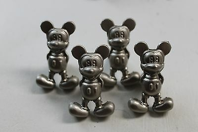 4 Metal Cabinet Mickey Mouse Drawer Pulls Knobs Furniture Hardware LAST 3 SETS!!