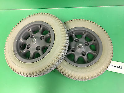 Wheels & Tires for Quickie 646  Power Wheelchair  #A142