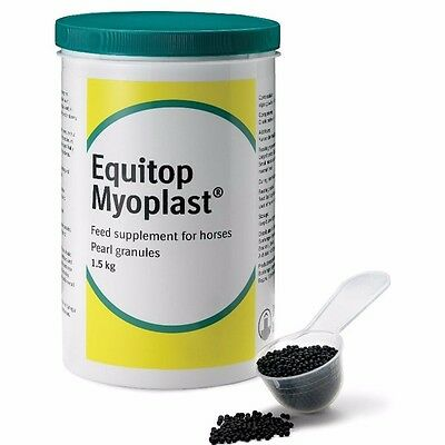 EQUITOP MYOPLAST 1.5kg Muscle Growth Recovery Supplement for Horses BEST PRICE!!