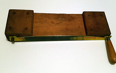 Small Vintage Guillotine / Craft Paper Cutter good working order