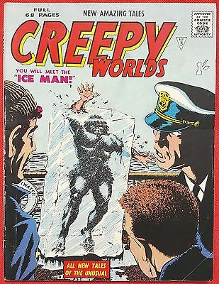 CREEPY WORLDS 3 ALAN CLASS 1962 Early Gene Colan & Don Perlin art
