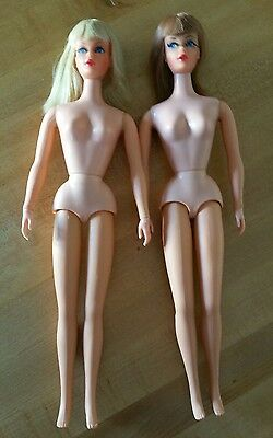 Vintage Mod Blonde & Titian Living Barbie Dolls