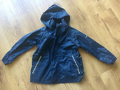 Regatta waterproof and breathable jacket - Age 5-6 Years - Navy