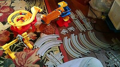 Geotrax Train Beamtown mining large lot track Fisher price