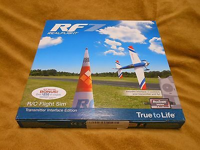 RealFlight RF7 Real Flight Excellent Condition Complete LOOK!