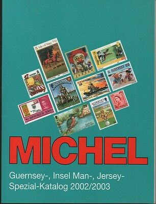 Michel Channel Islands Specialised stamp catalogue 2002/03 edition - new